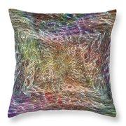 Electrified Throw Pillow