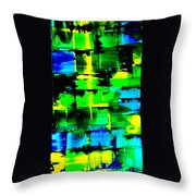 Electromagnetic Field Throw Pillow