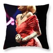 Elegant Beauty Throw Pillow
