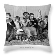 Elementary School Throw Pillow by Granger