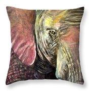 Elephancy Throw Pillow