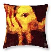Elephant I Am Throw Pillow