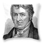 Eli Whitney (1765-1825) Throw Pillow