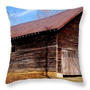 Elijah Oliver Barn Throw Pillow