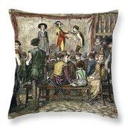 Elizabethan Theatre Throw Pillow
