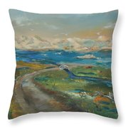 Elkhorn Slough Throw Pillow