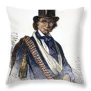 Ellen Craft (1826-1897) Throw Pillow by Granger