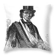 Ellen Craft (b.1826) Throw Pillow