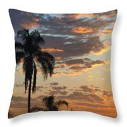 Ellery Sunrise Throw Pillow