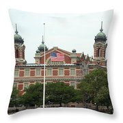 Ellis Island Throw Pillow