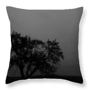 Elm To The Left Throw Pillow