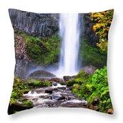 Elowah Falls 2 Throw Pillow