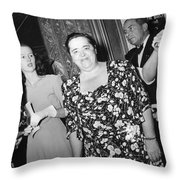 Elsa Maxwell (1883-1963) Throw Pillow