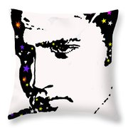 Elvis Living With The Stars Throw Pillow