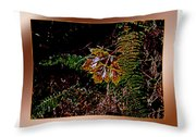 Elwha Leaf Throw Pillow