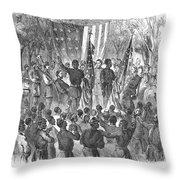Emancipation, 1863 Throw Pillow by Granger