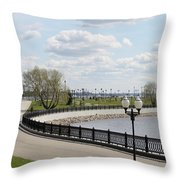 Embankment Throw Pillow