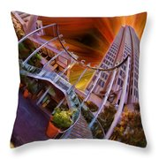 Embarcadero Center  Throw Pillow