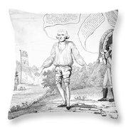 Embargo Repeal, 1809 Throw Pillow