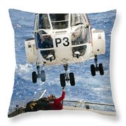 Embarked Presidential Airways Puma Throw Pillow