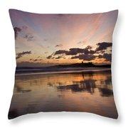 Embleton Bay Sunrise Throw Pillow