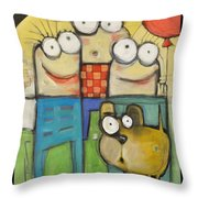 Embrace Your Inner Child Poster Throw Pillow