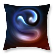Embryo Throw Pillow by Jutta Maria Pusl