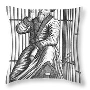 Emelyan Ivanovich Pugachev Throw Pillow