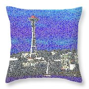 Emerald City Sailing Throw Pillow