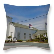 Emma Anderson Memorial Chapel Throw Pillow