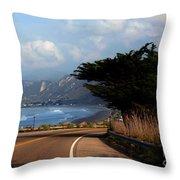 Emma Wood State Beach California Throw Pillow