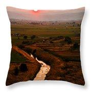 Emmett Sunrise Throw Pillow