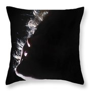 Emote Number One Throw Pillow