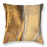 Emp Fools Gold Throw Pillow by Chris Dutton