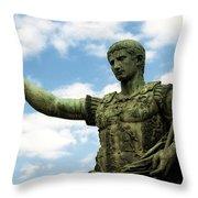 Emperor Caesar Augustus Throw Pillow
