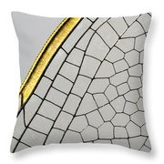 Emperor Dragonfly Anax Imperator Wing Throw Pillow