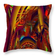 Emperors Garden Throw Pillow