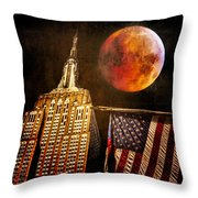 Empire Solstice Throw Pillow