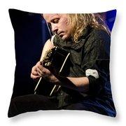 Emppu Vuorinen - Nightwish  Throw Pillow