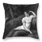 Empress Josephine Throw Pillow