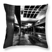 Empty And Cold Throw Pillow