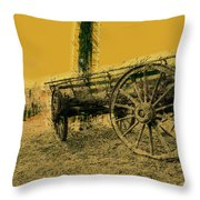 Empty Dreams Throw Pillow