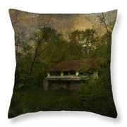 Empty Eyes And Forgotten Dreams Throw Pillow
