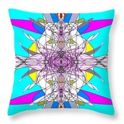 Emulsification Throw Pillow