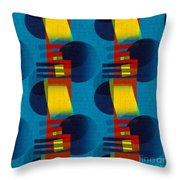 En Formes 01f Throw Pillow by Aimelle