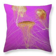 Enchanted Jellyfish 1 Throw Pillow