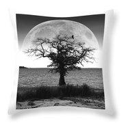 Enchanted Moon Throw Pillow