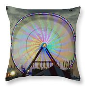 End Of Day With Design Throw Pillow
