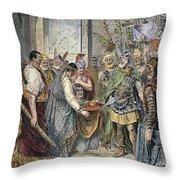 End Of Roman Empire Throw Pillow