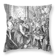 End Of The Roman Empire Throw Pillow